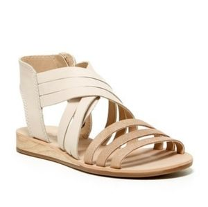 Lucky Brand > 'Jessicah' Side Zip Leather Sandal
